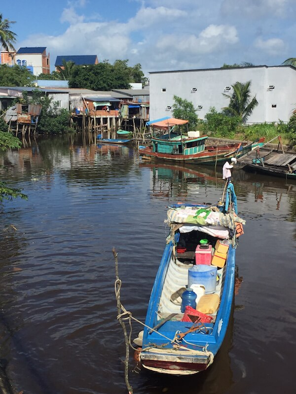 A fishing village on Phú Quốc island, Vietnam
